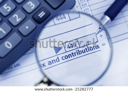 calculating tax