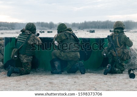 Calculation of soldiers with grenade launchers in position