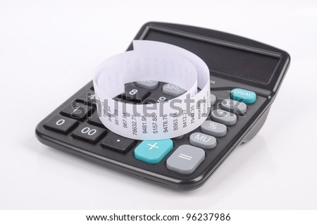 Calculator and account