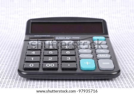 Calculator and binary code