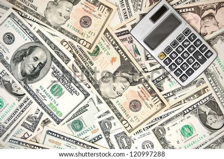 Calculator on dollars.
