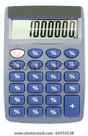 Calculator which always calculates only percents