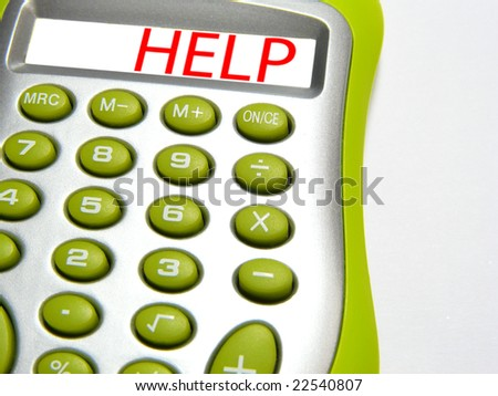 Calculator with word â??helpâ?�