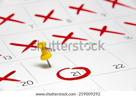 Calendar 2017 - mark the Event day with a Pin - timeline, time, concept, idea, management, concept, page, date, background #259009292