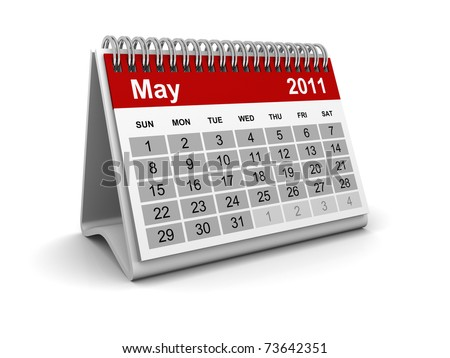 Calendar 2011 - May