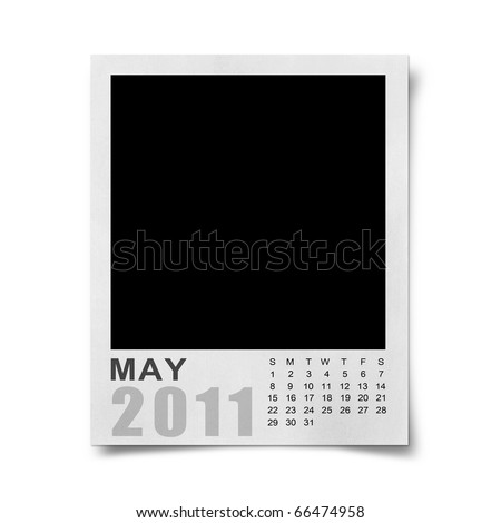 september 2011 blank calendar. stock photo : Calendar 2011 on