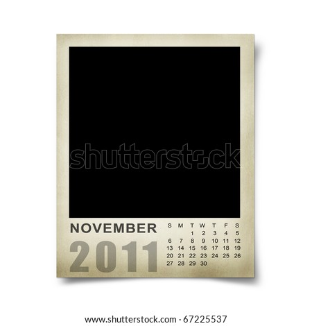 blank calendar 2011 australia. Blank Calendar 2011 November