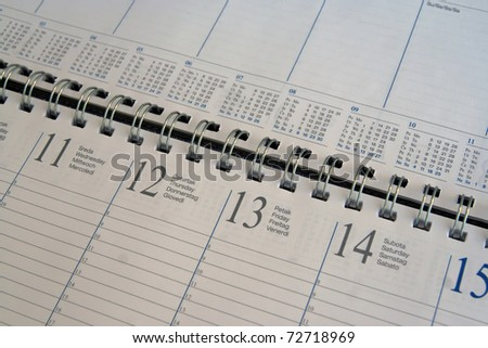 Calendar organizer. Date organizer. Company organizer. Business organizer.