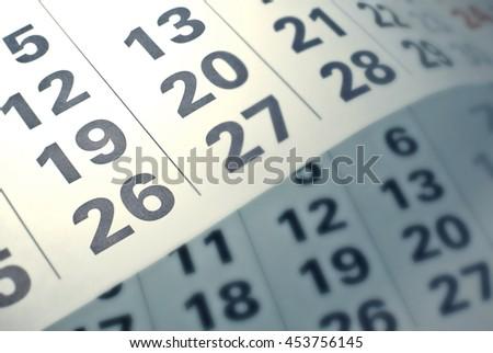 Calendar page  #453756145