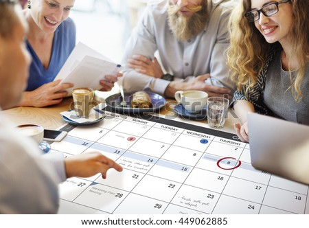 Calendar Planner Organization Management Remind Concept #449062885