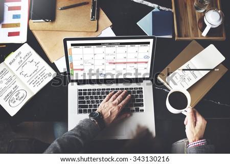 Calender Planner Organization Management Remind Concept #343130216
