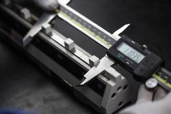 calibration digital vernier with caliper checker