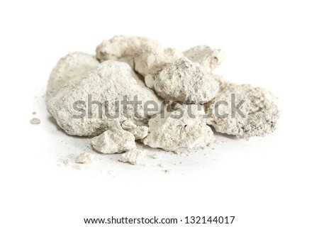 Caliche, sedimentary rock, consisting mainly calcium carbonate. Used in construction worldwide.