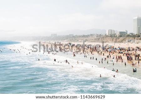 California Beach Day #1143669629