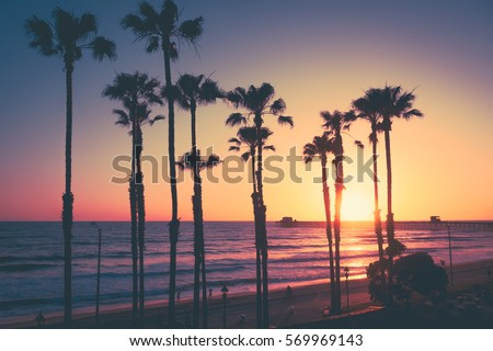 Shutterstock California Beach Sunset