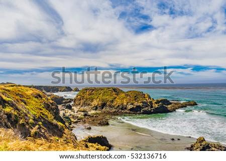 California coast #532136716