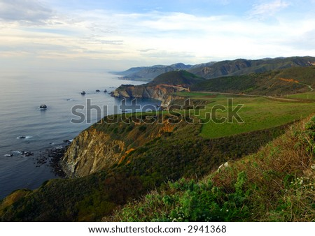 California Coast North of Big Sur