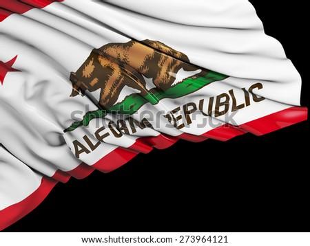 California Flag with black #273964121