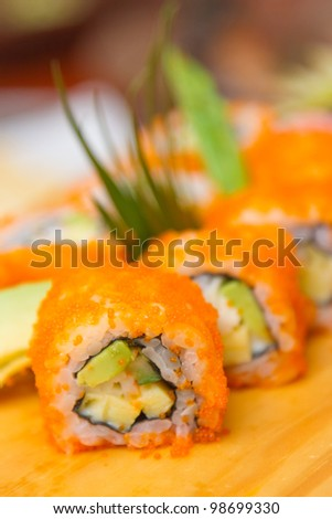 california maki ,japanese food