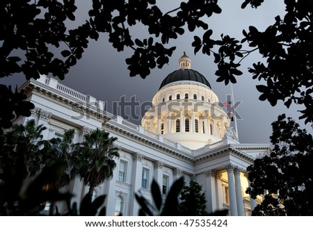 California State Capital - stock photo