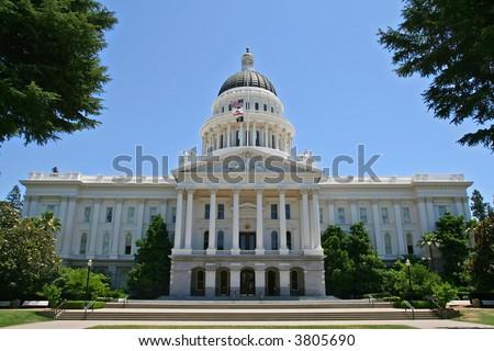 California State Capitol Building - stock photo