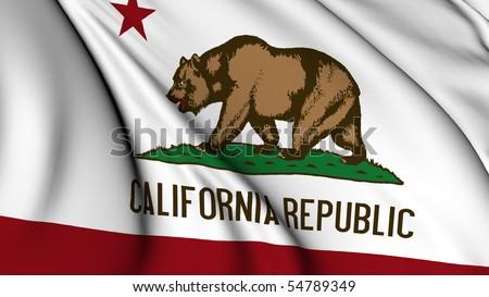 California state flag #54789349