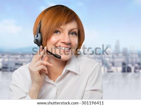 Call Center, Customer Service Representative, Service.