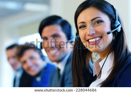 Call center operators #228044686