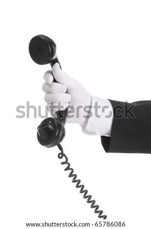 Call for you - stock photo