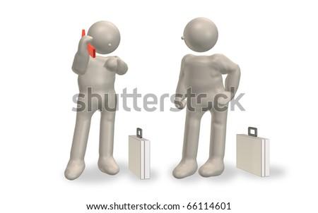 Calling mobile phones