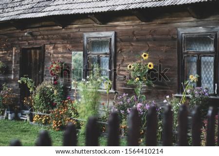 Calm and quiet Siemianowka village  Zdjęcia stock ©