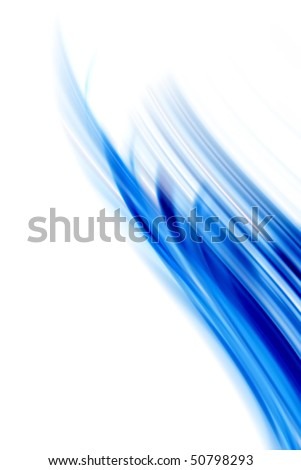 calm and soft painted blue lines or blurry shapes. Good for backgrounds and modern compositions.