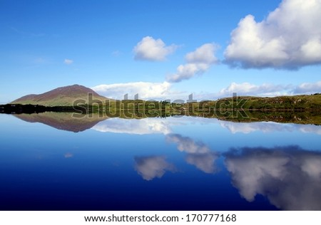 Calm lake in Connemara #170777168