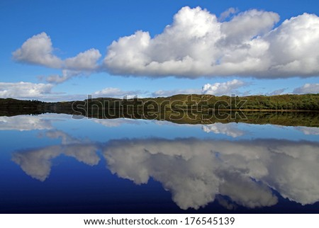 Calm lake in Connemara #176545139