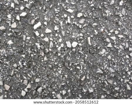 Calm ocean floor texture in summer