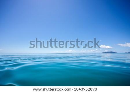 calm ocean panorama