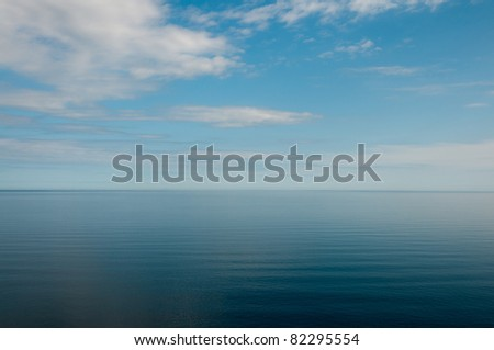 calm sea ,Isle of Skye