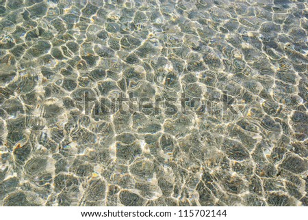 calm water ripple beautiful background or texture
