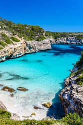 Calo Des Moro - beautiful bay and beach of Mallorca, Spain