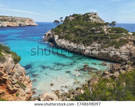 Photo of Calo des Moro, Santanyi, Mallorca Island,Spain.