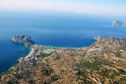 Calpe with the Rock of Ifach - Valencian Community -Spain-