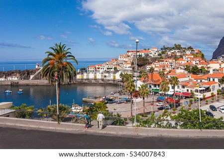 Shutterstock Camara de Lobos is a city in the south-central coast of Madeira, Portugal