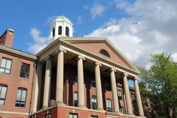 Cambridge, Massachusetts in the United States. Famous Harvard University - Edward Mallinckrodt chemical laboratory.