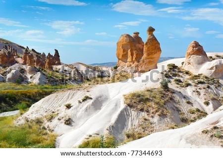 Camel Rock in the Cappadocia, Turkey
