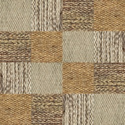 Camel wool fabric texture pattern collage in a chessboard order as abstract background.