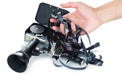 Camera film tangled