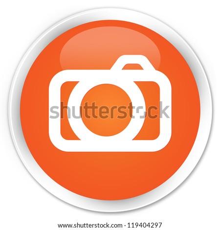 Camera icon orange button