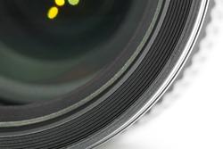 Camera Lens Closeup