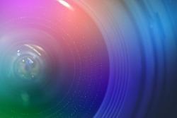 camera lens.digital camera lens close up.selective focus.