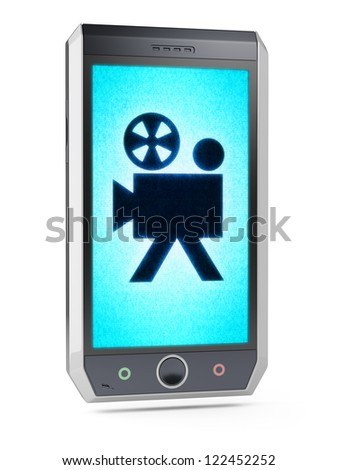 camera  This is my own design of smart phone, therefore you can use this picture for commercial purposes. Full collection of icons like that is in my portfolio